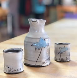 A Miracle Moment Pitcher - blue, yellow or pink