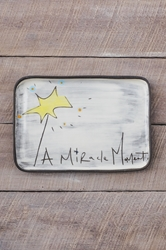 A Miracle Moment Rectangle Plate