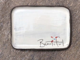Beautiful Rectangle Plate
