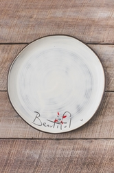 Beautiful Round Plate (Small/Large)