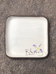 Blessings Square Plate (Small/Large)