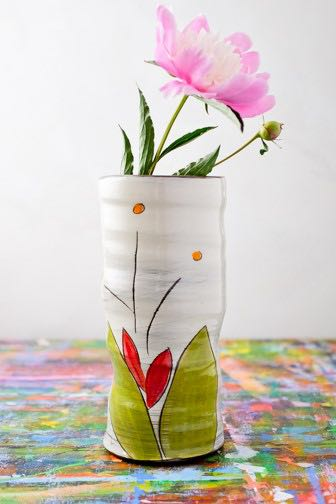 Bloom Be Round Vase (in 5 Blooming Colors!)
