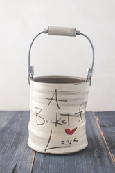 Bucket of Love (word) - (Small/Large)