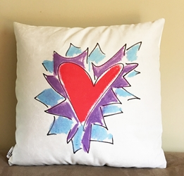 Friendship Pillow (reversible)