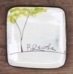Fruit Tree Square Plate (Small/Large - in 4 fantastic fruits!)
