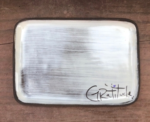 Gratitude Rectangle Plate