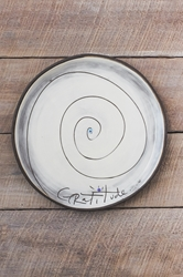 Gratitude Spiral Round Plate (Small/Large)