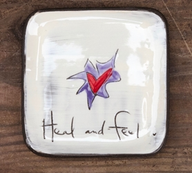 Heal and Feel Square Plate (Small/Large)