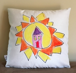 Home Pillow (reversible)