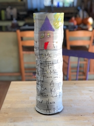 Home Poem Tall Vase
