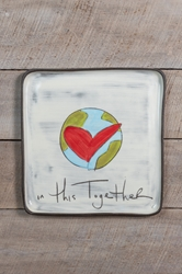 In This Together Square Plate (Small/Large)