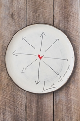 Love All Ways Round Plate (Small/Large)