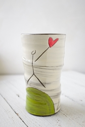Love the Earth Round Vase