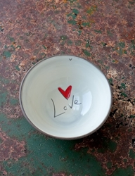 Love (word) Bowl (Small Bowl/Mini Bowl)