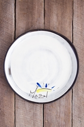Mazel Round Plate (Small/Large)