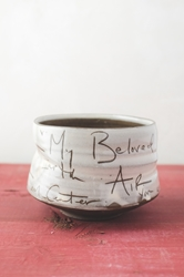 My Beloved Poem Tea Bowl