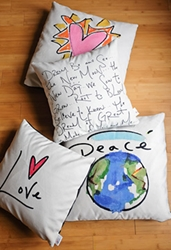 Peace Pillow (reversible)