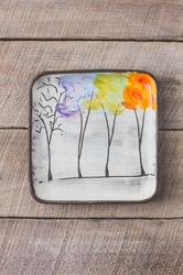Seasons Square Plate (Small/Large)