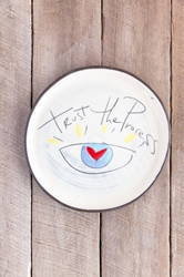 Trust the Process Round Plate (Small/Large)