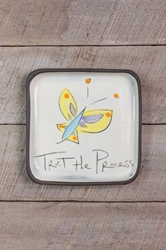 Trust the Process Square Plate (Small/Large)