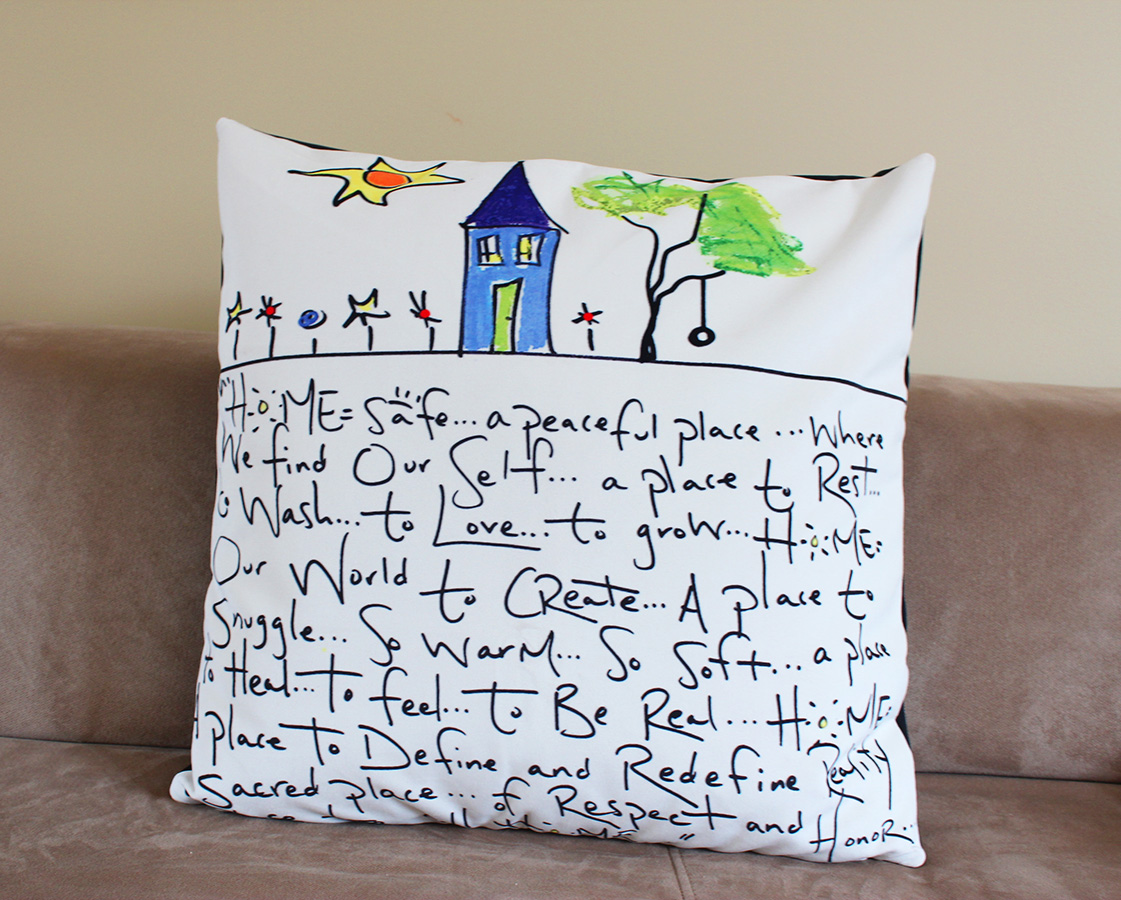 Home Poem Pillow