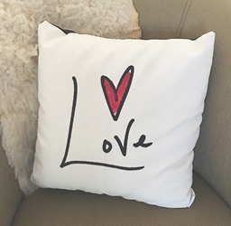 Love Pillow (reversible)